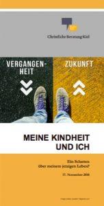 """Flyer """"Meine Kindheit und ich"""""""